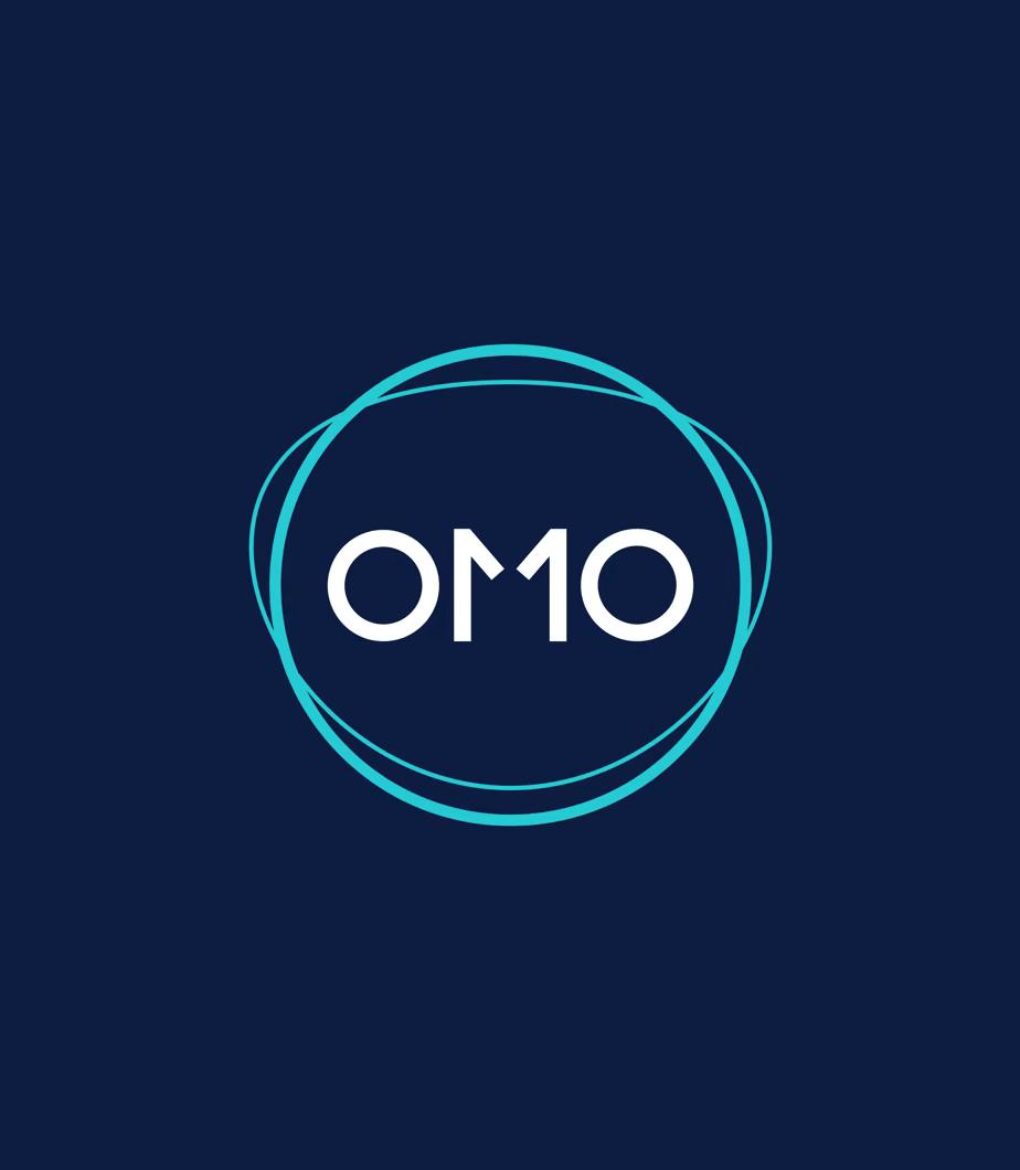 OMO landing page